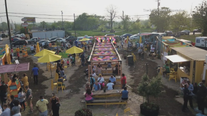 Pop-up food park opens for families in South Dallas
