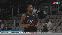 Randle scores 44 in hometown, Knicks beat Mavs 117-109