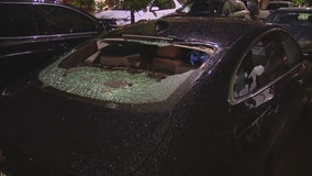 Large hail impacts parts of northern Tarrant County