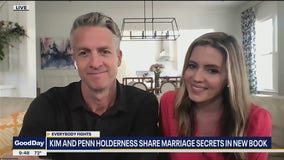 Kim and Penn Holderness share marriage secrets in new book