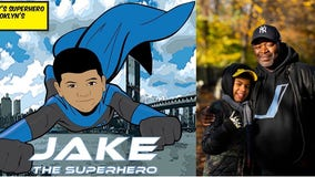 Dad, son with autism collaborate on comic book series to help son better understand the world