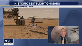 NASA prepares for historic helicopter test flight on Mars
