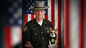 Retired Ohio sheriff and tiny K-9 partner die on same day, will be buried together