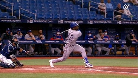 Garcia's 2-run homer in 10th lifts Rangers over Rays 6-4