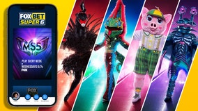 $10K: That's 10,000 reasons to watch 'The Masked Singer' and play the FOX Super 6 contest