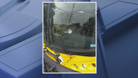 Stray bullet narrowly misses DART bus driver