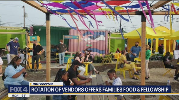 Empty lot transformed into space for families in South Dallas