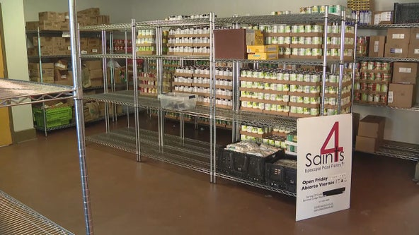 Fort Worth food pantry forced out of its church building moves to new location
