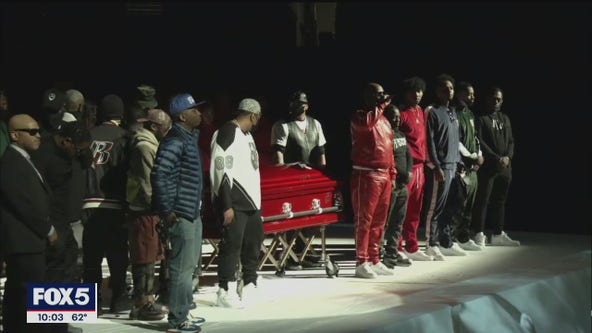 DMX memorial service held at Barclays Center