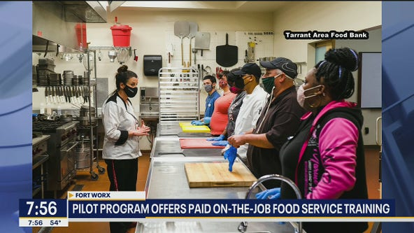 Program offers paid on-the-job food service training