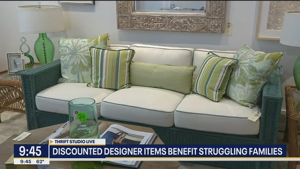 Studio offers designer items you want at thrift store prices