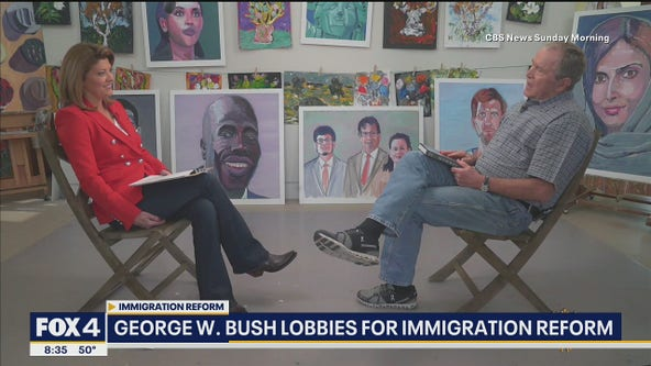 George W. Bush lobbies for immigration reform