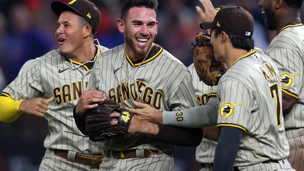 Hometown no-no: Musgrove no-hitter for Padres vs. Rangers