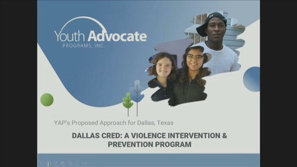 Dallas PD working on 'violence interruption program' targeting at-risk youth