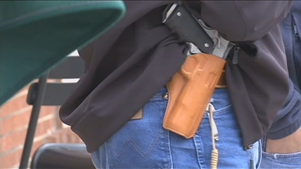 Texas Senate votes to move forward with permitless carry bill