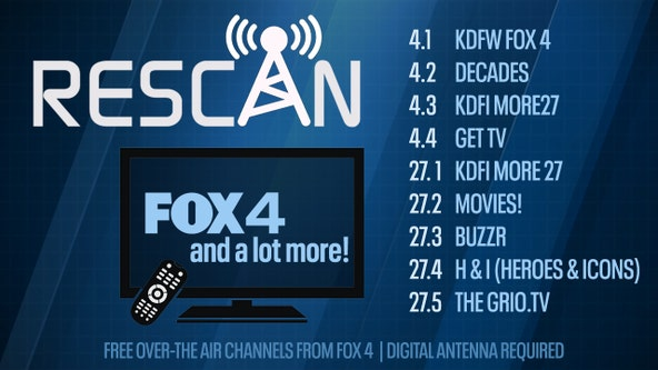 How to rescan your TV to watch FOX 4, MORE 27 and all our sub channels using an antenna