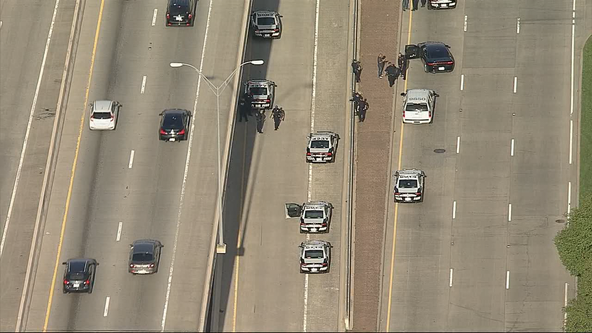 'Major police incident' along LBJ Freeway in Dallas during Monday rush hour