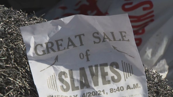 Aledo ISD investigating racist 'slave sale' flyers left near schools
