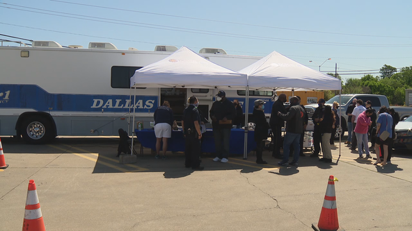 Several events held across Dallas to get people the COVID-19 vaccine