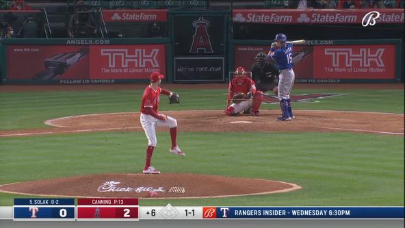 Ohtani throws 4 shutout innings, LA defeats Rangers 6-2