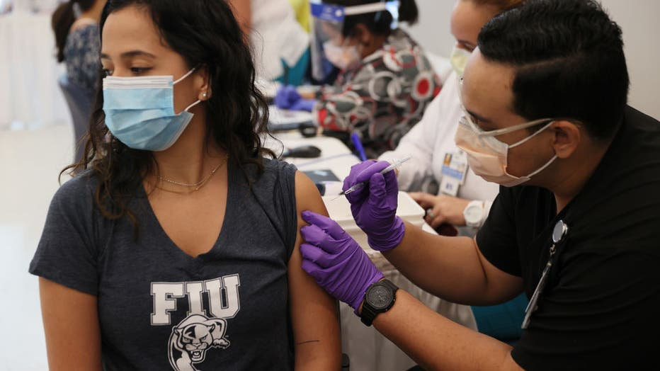 Colleges In Miami-Dade County Set Up Vaccination Programs For Students