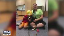 Tobi the two-legged dog finds new purpose inspiring children