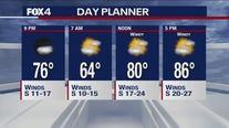 May 7 overnight forecast
