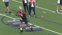 Dak Prescott tests repaired ankle during Dallas Cowboys workouts