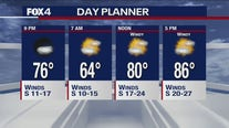 May 7 evening forecast
