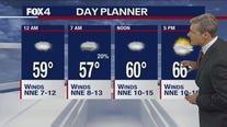 May 11 overnight forecast