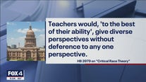 Texas House bill would restrict teaching critical race theory in schools