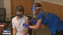 Vaccinations for children 12 and older begin in North Texas