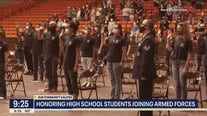 Events honor high school students joining armed forces