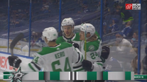 Stars keep playoff hopes alive with 5-2 win over Lightning