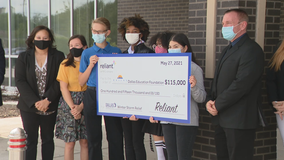 Reliant Energy helps replace instruments for Dallas ISD students that were damaged by winter storm