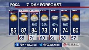 May 7 morning forecast