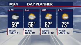 May 12 overnight forecast