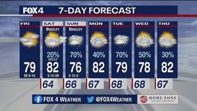 May 14, 2021 morning forecast