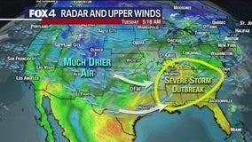 May 4 morning forecast