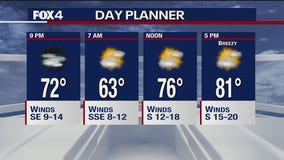 May 14th Evening Forecast