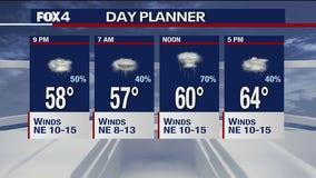 May 10 evening forecast