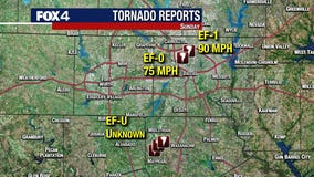 Two tornadoes hit Dallas, University Park on Sunday, NWS says