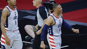 Fan involved in Russell Westbrook popcorn incident banned from Wells Fargo Center, 76ers say