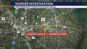 Man found shot to death in Far East Dallas