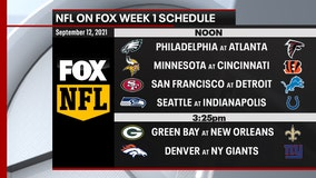 Sneak Peek: NFL releases Week 1 schedule on FOX