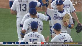 Garcia hits 2 more home runs, powers Rangers past Astros 8-4