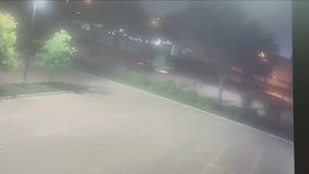 Video shows car used in drive-by shooting at Carrollton Police Department