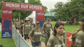 Carry the Load march draws hundreds to Dallas for Memorial Day