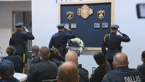 New memorial honors fallen Dallas police animals