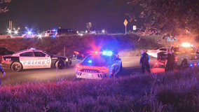 Man arrested for DWI after crashing into Dallas County deputy's vehicle